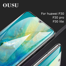 OUSU Scratch Proof Tempered Glass For huawei P30 pro Protective Glass Film Screen Protector For huawei