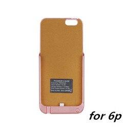 10000mah External Power Case For iPhone6 Rechargeable 7 Plus 10000mah Battery Backup Case For iPhone 6s plus Battery Case iOS 10