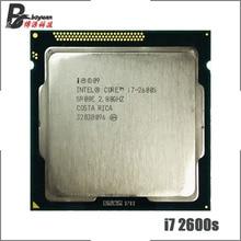 Processeur Intel Core i7 2600S i7 2600 S, i7 2600 S 2.8 GHz, Quad Core Eight Core, 65W processeur dunité centrale, LGA 1155