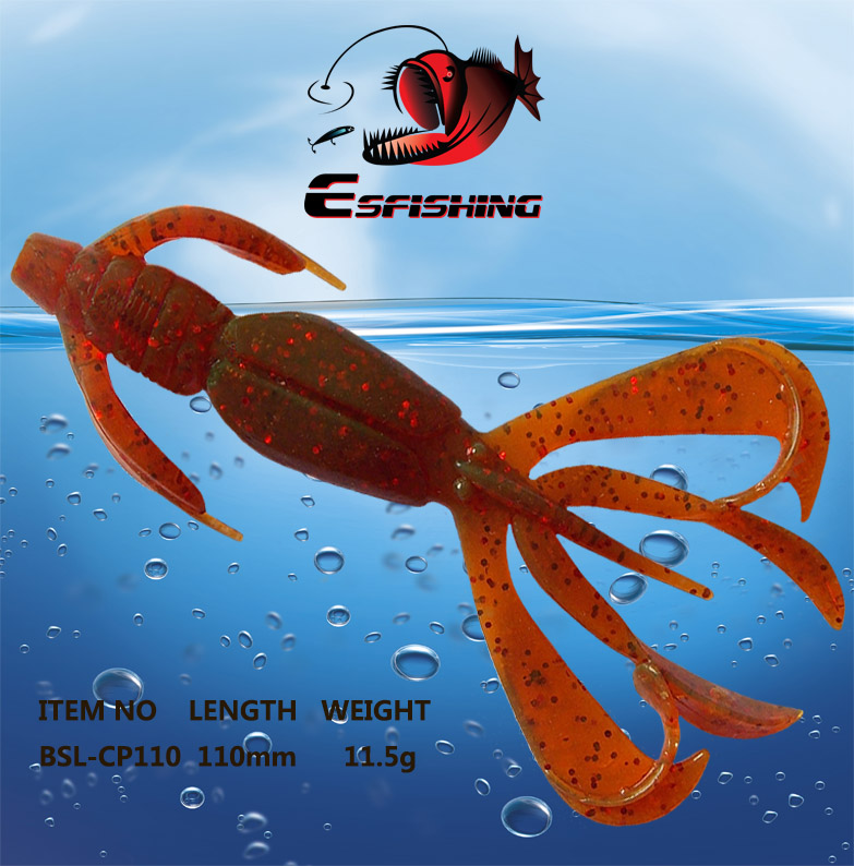 Iscas Artificial Pesca Silicone Bait 5pcs Fishing Lure Soft Lures 11cm/11.4g Crazy Flapper Swimbait Carp Fishing Tackles Winter стоимость
