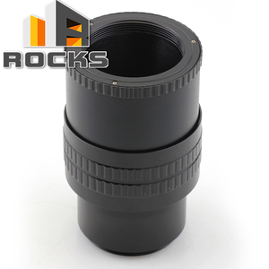 Image 1 - M42 to M42 Mount Lens Adjustable Focusing Helicoid Macro Tube Adapter   35mm to 90mm