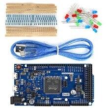 DUE R3 Development Board Kit w/ USB Cable / Resistor / LED 32-bit ARM Microcontroller