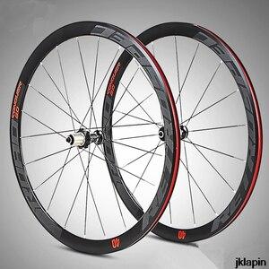 Супер-светильник C6.0 700C, 36 мм, алюминиевый, дорожный, велосипедный, закрытый подшипник, колесо с плоскими спицами, гоночные диски