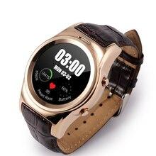 LENCISE Neue Bluetooth Smartwatch Lederband Unterstützung SIM/Tf-karte SMS MP3 MP4 Für IOS Android Hebräischen Sprache Besser GT08