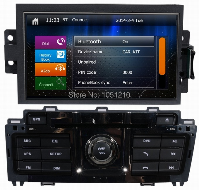 Ouchuangbo Car dvd radio gps navi multimedia for Brilliance V5 2013 support canbus Arabic Spanish Russian 2015 Colombia map