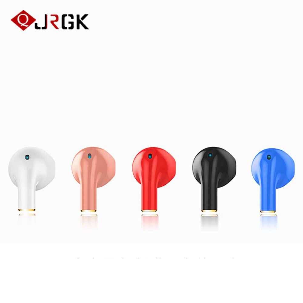 JRGK dotykowy Stereo bezprzewodowe słuchawki słuchawka Bluetooth dla iphone xiaomi bezprzewodowa słuchawka przewodowy słuchawka do telefonu stereofoniczny mikrofon