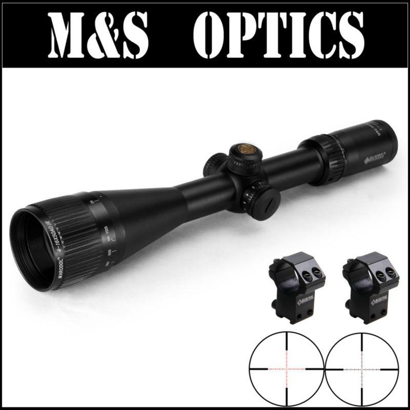 все цены на MARCOOL ALT 4-16X50 AO IR Iluminator Hunting Fully Multi-green Coated Optics Sight Riflescopes For Tactical Gun Scopes онлайн