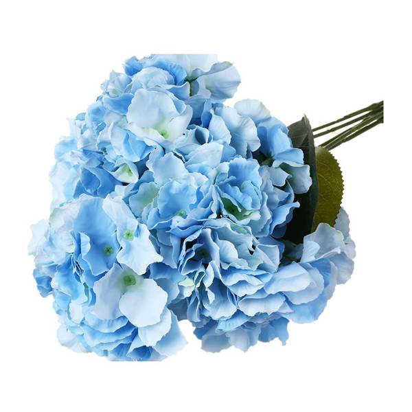 10 pcs/lot Artificial Hydrangea Flower 5 Big Heads Bouquet (Diameter 7 each head) Cre