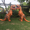 INFLATABLE Dinosaur T REX ADULT Costume Jurassic World Park Blowup Dinosaur Halloween Inflatable Costume Party Costume