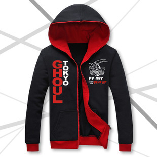 7b3706ecec Show Luo Tokyo Ghoul sweater cartoon ghost gold wooden baseball uniform  grind animation around cardigan jacket on Aliexpress.com