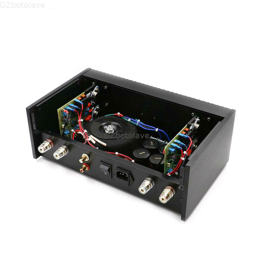 Engraved QUAD405 HIFI  Classic  power amplifier finished machine ON MJ15024 75W+75W