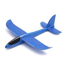 48CM יד לזרוק עף דאון מטוס קצף צעצוע 35CM גדול מטוס דגם EPP חיצוני ספורט מטוסי כיף צעצועים לילדים משחק TY0321
