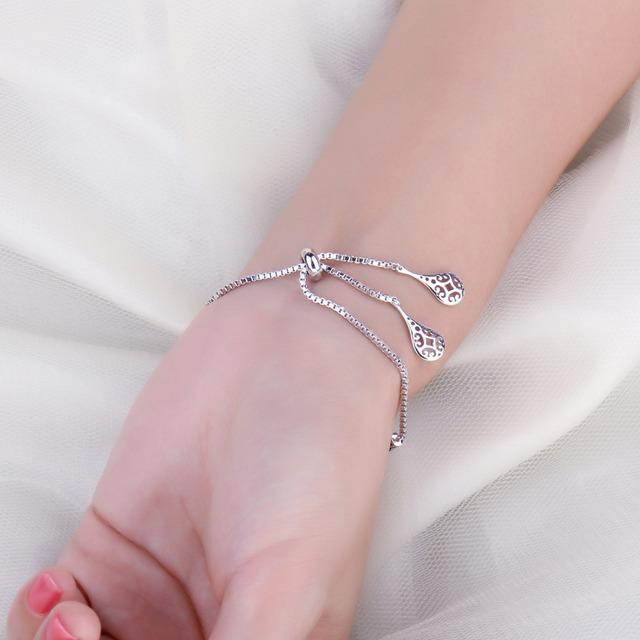 Serpentine Sterling Silver Bracelet