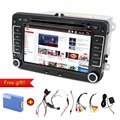 car dvd android 2 Din 7 Inch Car DVD Player For VW/Volkswagen/Passat/POLO/GOLF/Skoda/Seat/Leon With GPS Navigation FM RDS Maps