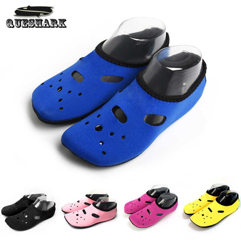 Su Sporları dalış çorapları Anti Patinaj plaj ayakkabısı Yüzme Sörf Neopren Çorap Yetişkin Dalış Botları Wetsuit Aqua Ayakkabı su ayakkabısı