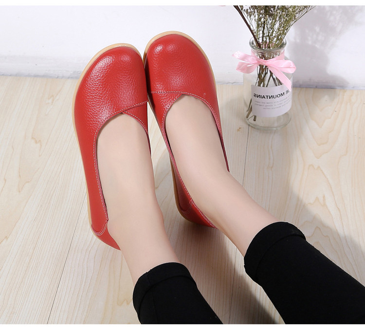 AH 5928-2019 Spring Autumn Woman Flats Casual Women Loafers-13