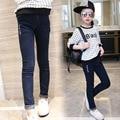 Pantalones vaqueros para Chicas Mezclilla Pantalones de Alta Calidad Pantalones de Los Cabritos Nueva Delgado Pantalones niñas Otoño y Primavera Pantalones de Los Niños 2 4 T 6 8 10 12