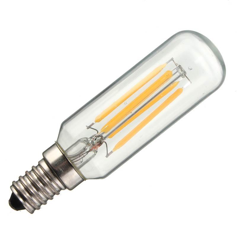 New E14 T25 Energy Saving 4W 400Lumen LED Retro Vintage Edison Lamp Home Lighting Bulb Pure Warm White Non Dimmable AC220V