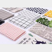 30*40cm Photography Background Cloth Photo Studio Shooting Mini Plaid Tablecloth ins Style Photography Backgrounds Cloth