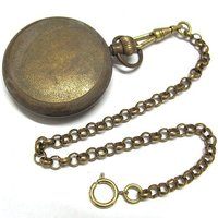 hot !!!Old 3 dials 5 Hands 1856S LONDON 100% Brass Pocket Watch freeship