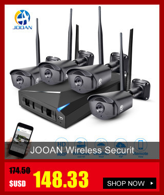 מערכת מעקב - JOOAN 8CH DVR CCTV Video Recorder 4PCS 720P Home
