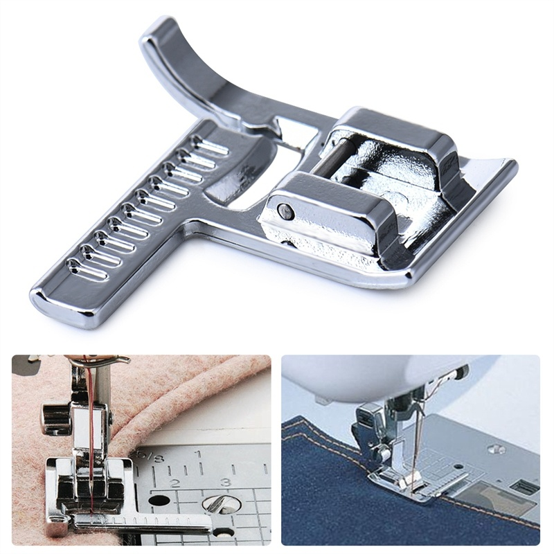 Multifunction Household Sewing Machines with Ruler for Presser Foot Sewing