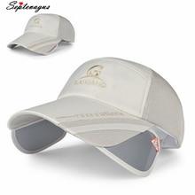 Модная Мужская и Женская Бейсболка унисекс из полиэфирной сетки с широкими полями Регулируемая дышащая Выходная шляпа; шляпа для мужчин и женщин шляпы для гольфа