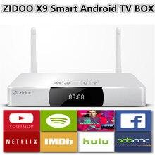 Zidoo X9 2G/8G Smart Android 4.4.2 TV Box WIFI Bluetooth 2 Karat * 4 Karat USB3.0 Quad Core XBMC KODI H.265 Mstar HDMI-in Recorder Dolby DTS(China (Mainland))