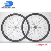 1143g Deercycles Lightest 700C 38mm Deep 23mm Wide Carbon Tubular Road Disc Brake Cyclocross Bicycle Wheels CX Bike Wheel set free shipping carbon disc wheel road disc wheel bicycle wheel 700c cycling track disc wheels
