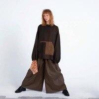 2019 SS Новая коллекция оригинальный дизайн негабаритных шелковые худи для женщин