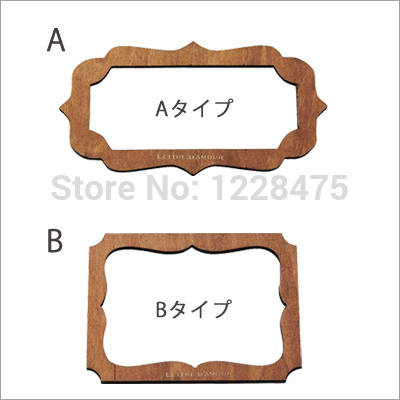 Aliexpresscom Buy Pcslot Retro Zakka Style Place Card Template - Place card maker
