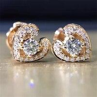 LASAMERO 0 2CTW Natural Diamond Cluster Earrings 18K White Gold Diamond Halo Stud Earrings Fine Jewelry