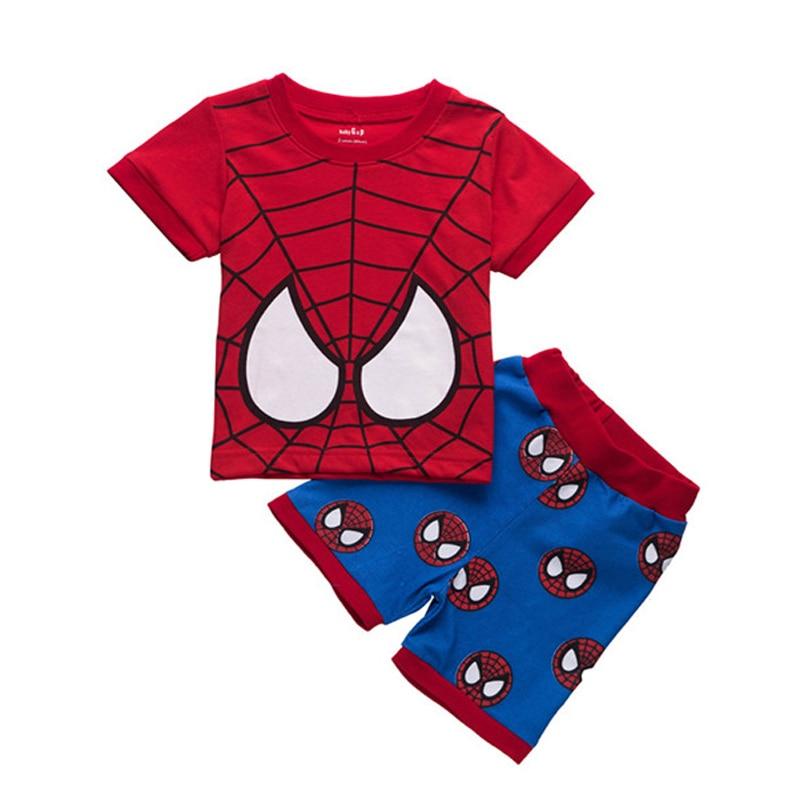 Kids Boys Character 2 Piece Set Infant Clothing Short Sleeve New