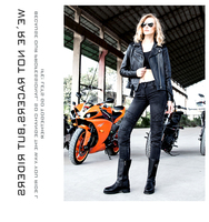 newest Uglybros UBS 09 Motorcycle ride jeans with ms ms ms gear ride jeans jeans trousers women pants