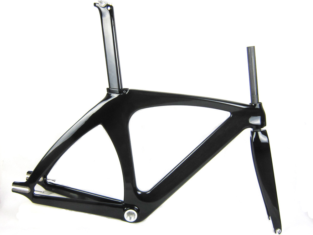 2015 popular full carbon track frame for road bikebicycle t800 glossy finish fix