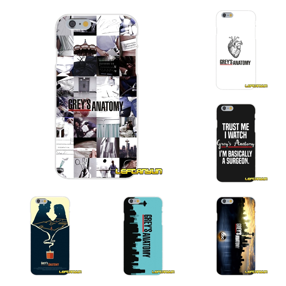 Cute Greys Anatomy Quotes Soft Silicone phone Case For Samsung ...