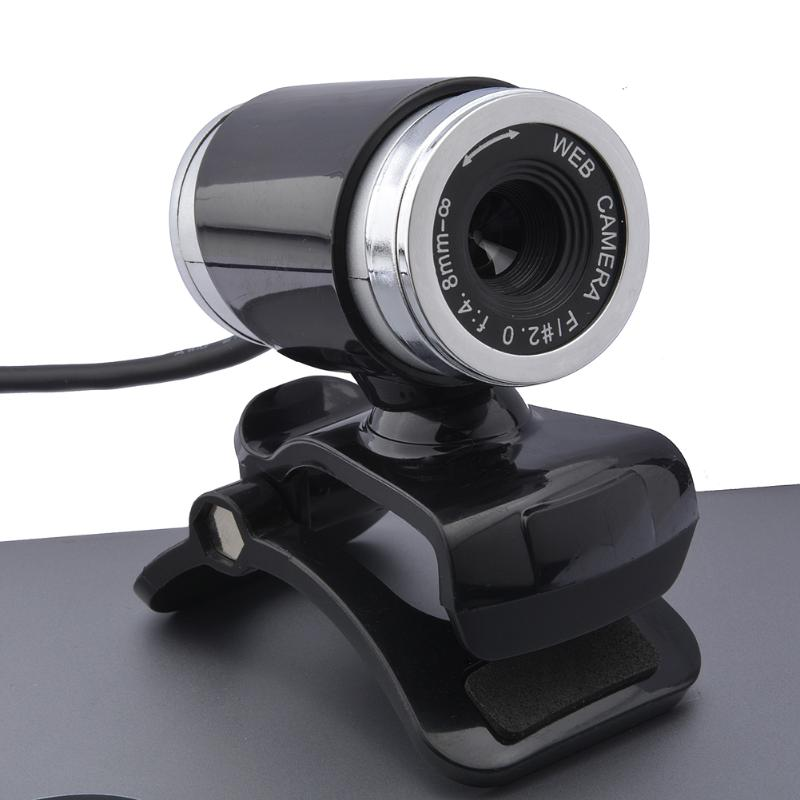 Webcam USB 12 Megapixel High Definition Camera Web Cam 360 Degree MIC Clip-on Webcam for Skype Computer Desktop Laptop PC