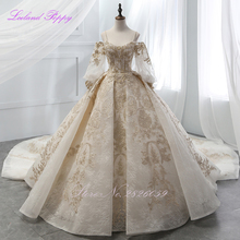 LCELAND POPPY Wedding Dress A-line Full Sleeves
