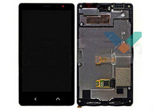 Original For nokia x2 Dual SIM RM-1013 lumia x2 LCD Display+Touch Screen Digitizer +frame Assembly