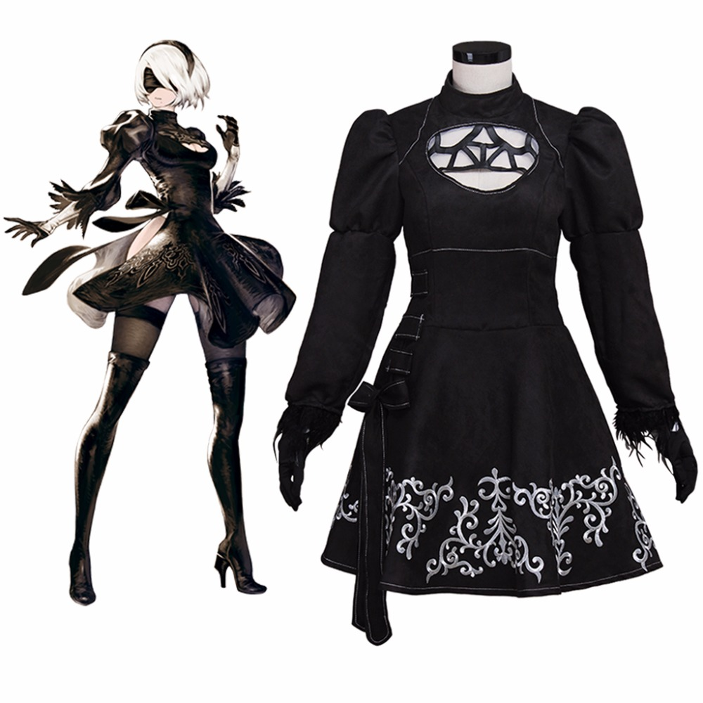 Athemis NieR: Automata Cosplay Costumes YoRHa Dree cosplay costume for Halloween party