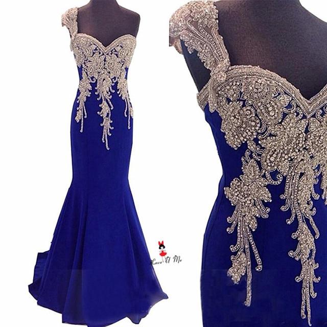 Silver Blue Cocktail Dresses