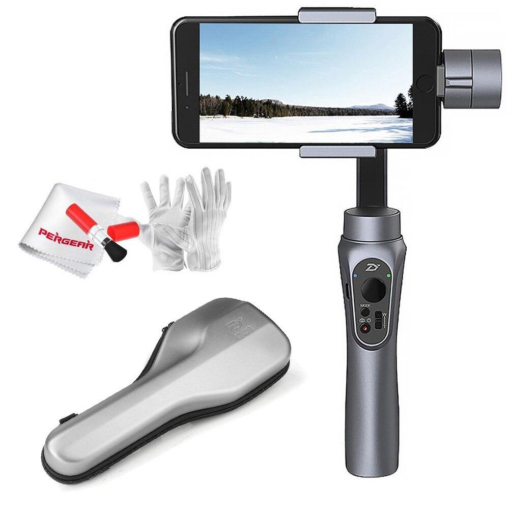 bilder für Auf Lager Zhiyun SMOOTH-Q Glatt Q Handheld 3-Axis Gimbal Tragbare Stabilisator für Smartphone iPhone 7 Plus 6 S7 Vertikale Schießen