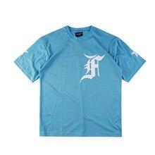 746f68c4 Fear Of God T shirt Justin Bieber Streetwear Jogger Sportswear Mesh Fear Of God  T-