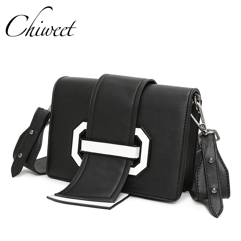 Fashion New Panelled Ribbon Bags Handbags Women Famous Brands Wide Strap Shoulder Bags Luxury Small Crossbody Messenger Bag Sac