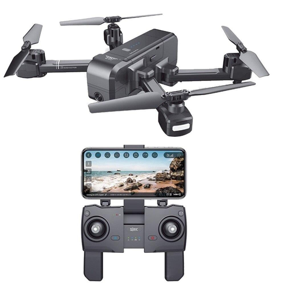 Z5 1080 P широкоугольный Камера Wi Fi FPV Drone gps автоматический возврат Follow Me удаленного Управление вертолет беспилотный Profissional