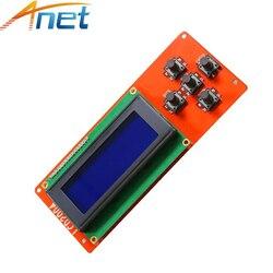 Anet 3D принтер LCD2004/12864 панель управления синий экран часть RAMPS 1,4 Play LCD экран дисплей монитор для A8 A6 принтера