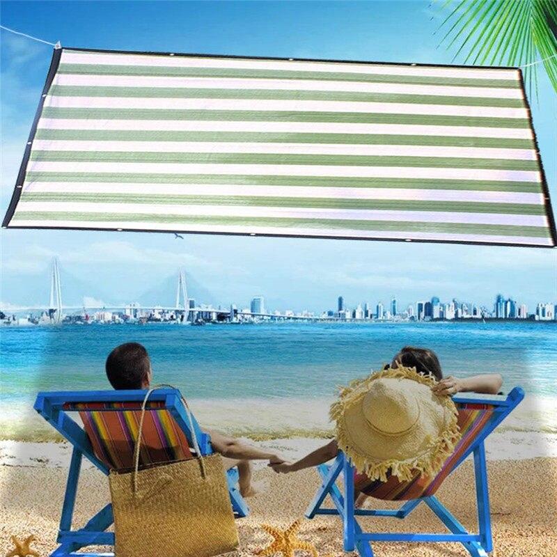 US $10.81 21% OFF|sun shade sail HDPE shade cloth outdoor veranda holiday  awning toldo garden Canopy gazebo roof tents sunscreen UV Carport 2*2M-in  ...