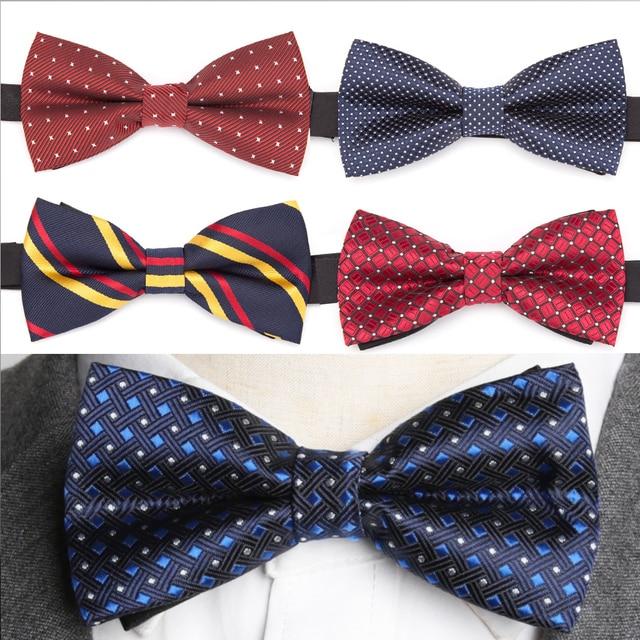 8f1c242f5e28 Mens Bowtie Fashion Necktie Man Shirt Accessories Gift Ties for Men Bow Tie  Formal Dress Wedding Ties Corbatas Para Hombre