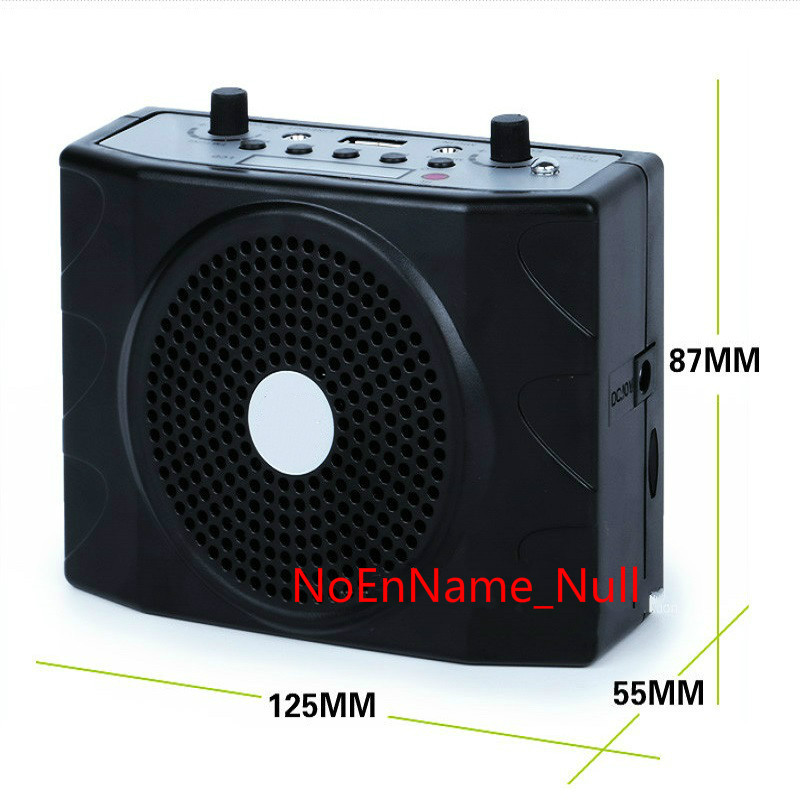 Portable Amplifier Audio Megaphone Mini Speaker wireless Radio FM USB Player Loudspeaker With Mic For Teaching Speech Tour Guide