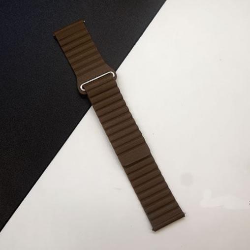 22mm echtes leder uhrenarmband schnellverschluss für samsung gear s3 - Uhrenzubehör - Foto 6